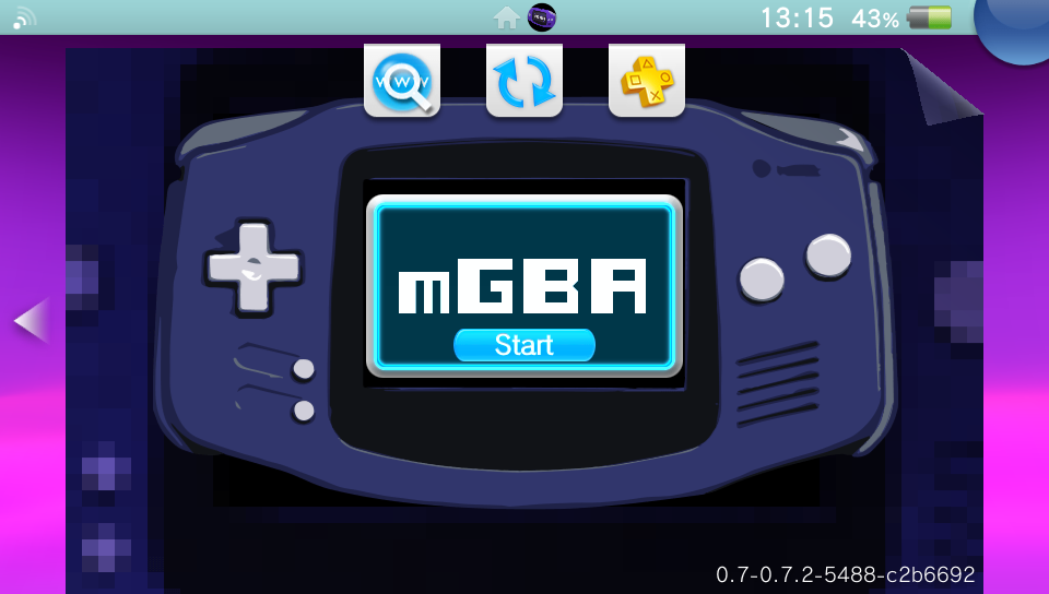mGBA 0 7 2 released with improved frame drawing speed on the