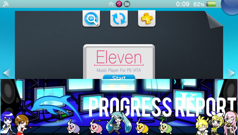 ElevenMPV for the PSVita gets updated with fixes, audio