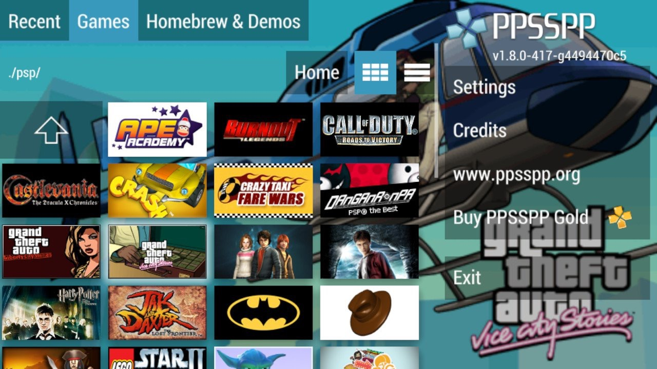 Emulation News The Switch Gets A Standalone Ppsspp Port With