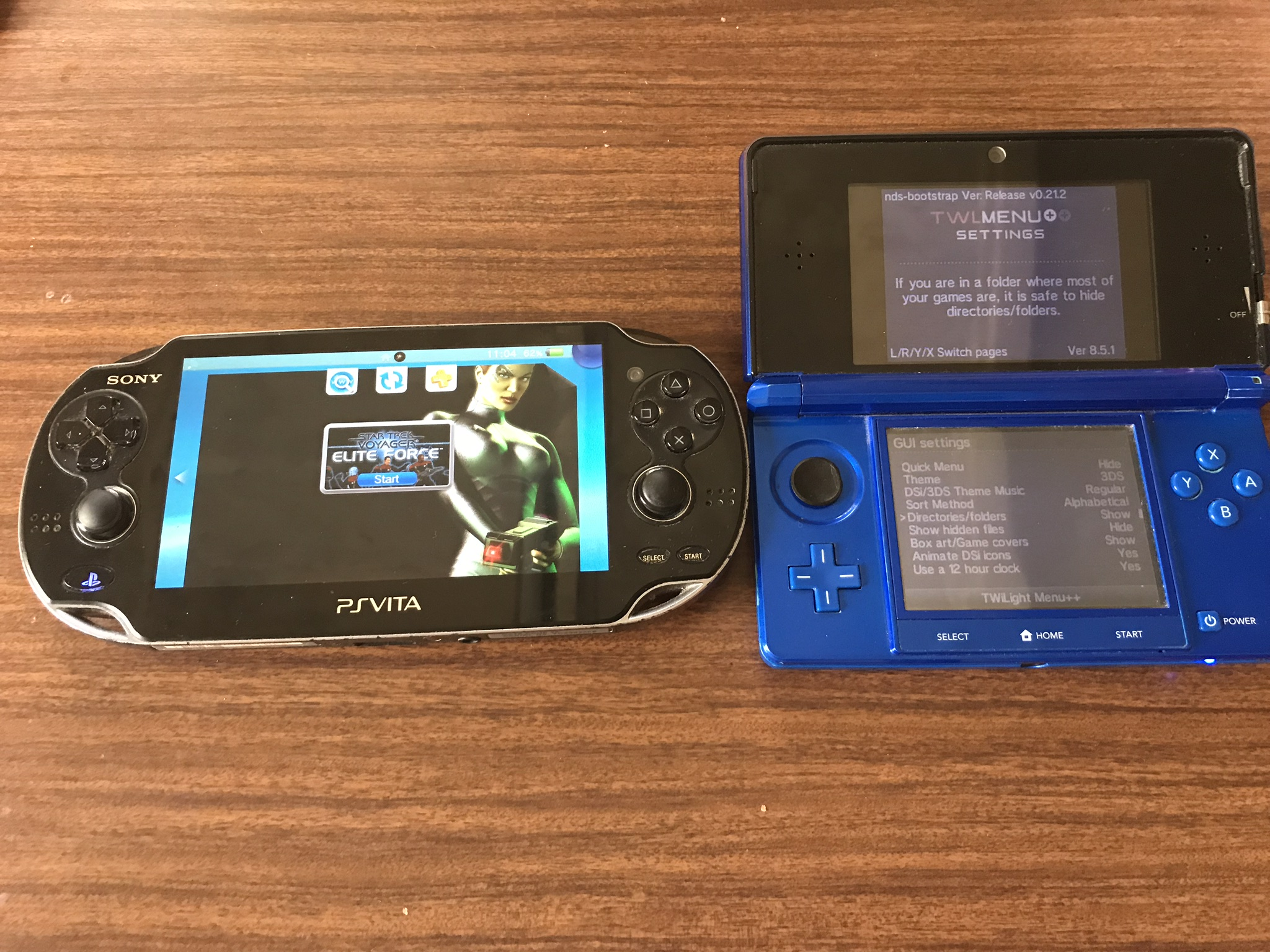 PSVita & 3DS News: Star Trek Voyager: Elite Force Holomatch