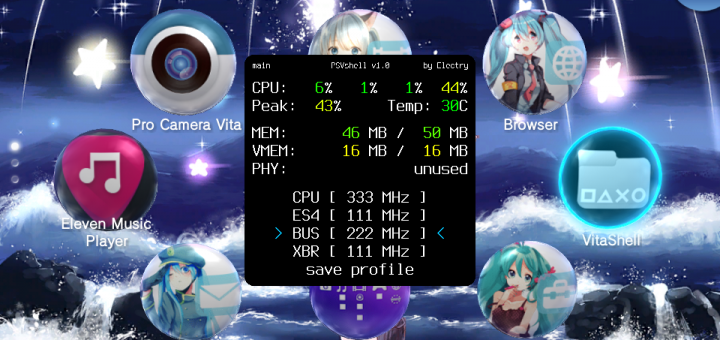 PSVshell released - The definitive PSVita overclocking plugin!