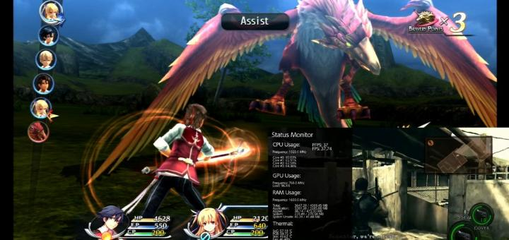 PSVita & Switch Releases: Trails Of Cold Steel I & II for the Vita get PC voices mod for better quality & Switch earns on-screen FPS Counter with NX-FPS!