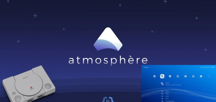 Switch & PlayStation Classic: Atmosphere 0.10.4 released with rewritten NCM module & emuMMC corruption bug fix and RetroBoot 1.0 released for the PlayStation Classic with RetroArch 1.8.4, an app launcher system and more!
