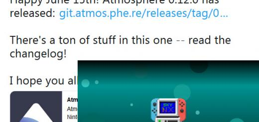 Switch Releases: Atmosphère 0.12.0 with improvemetns to dmnt's Cheat VM, sysmodule re-implementations + many behind-the-scenes stuff & SkyNX 1.0 released allowing for 60FPS PC Game Streaming to the Switch together with support for multiple JoyCons & touch input!