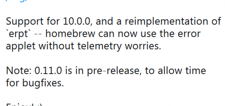 Switch News: Nintendo releases Firmware 10.0.0 which is already hacked thanks to Atmosphère 0.11 - FW 10.0.0 brings button remapping feature, lets you transfer software between NAND and SD Card and more!
