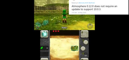 Switch News: Firmware 10.0.3 released with changes so minor that Atmosphere is still compatible & m4xw currently porting Citra (3DS emulator) to the console!