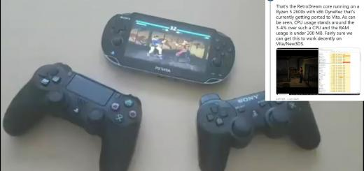 PSVita News: Rinnegatamante porting ReDream, a Dreamcast emulator, to the PlayStation Vita & TheFlow releases MiniVitaTV Beta 4 allowing one to use Vita's buttons while a DS3/4 is connected!