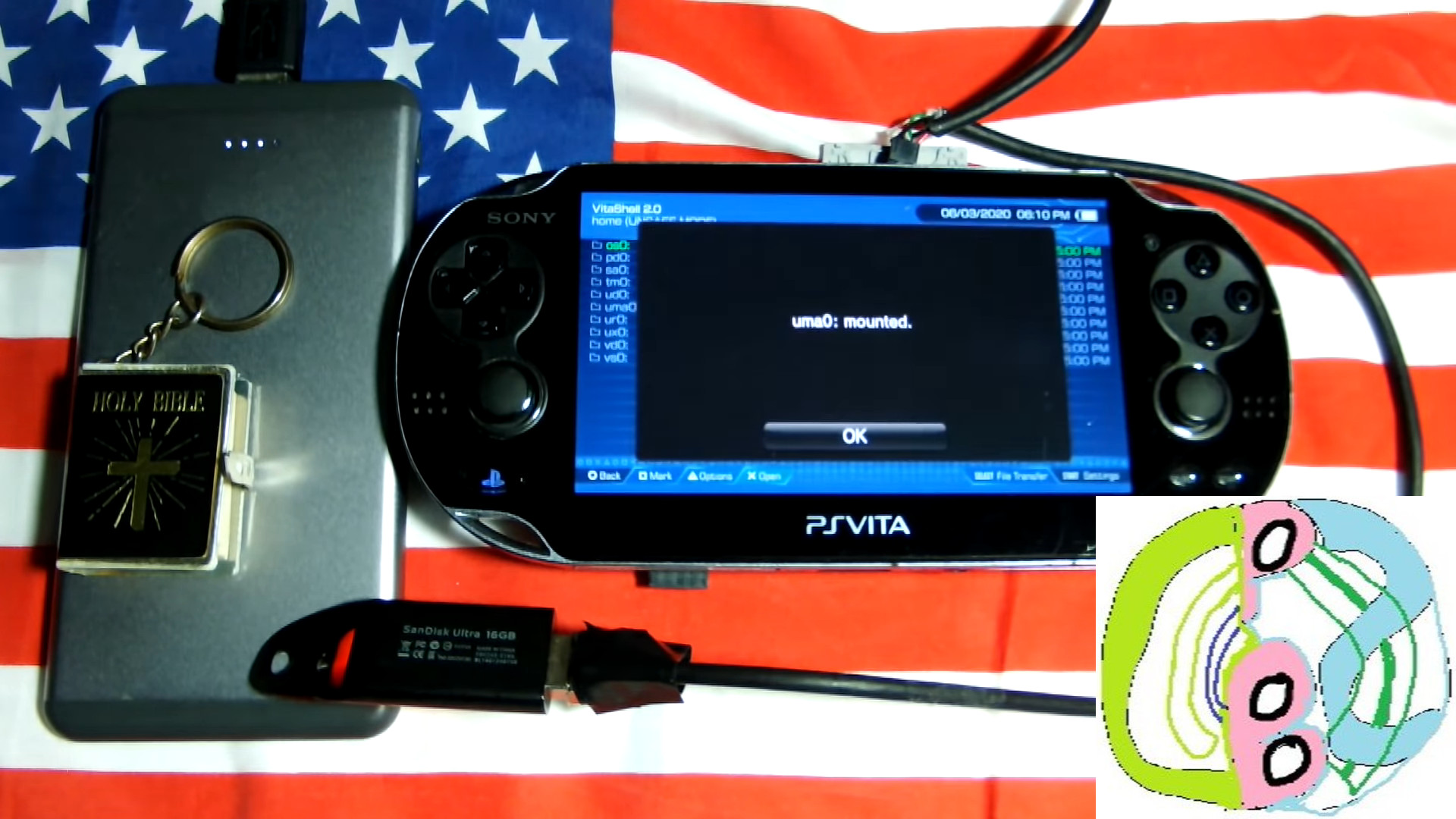 Psvita News A Summary Of State Of Cbps Many Releases For The Vita Unveiling Cbpsdb Together With Attempts To Use Vita Mystery Port Slim S Micro Usb Port For External Storage