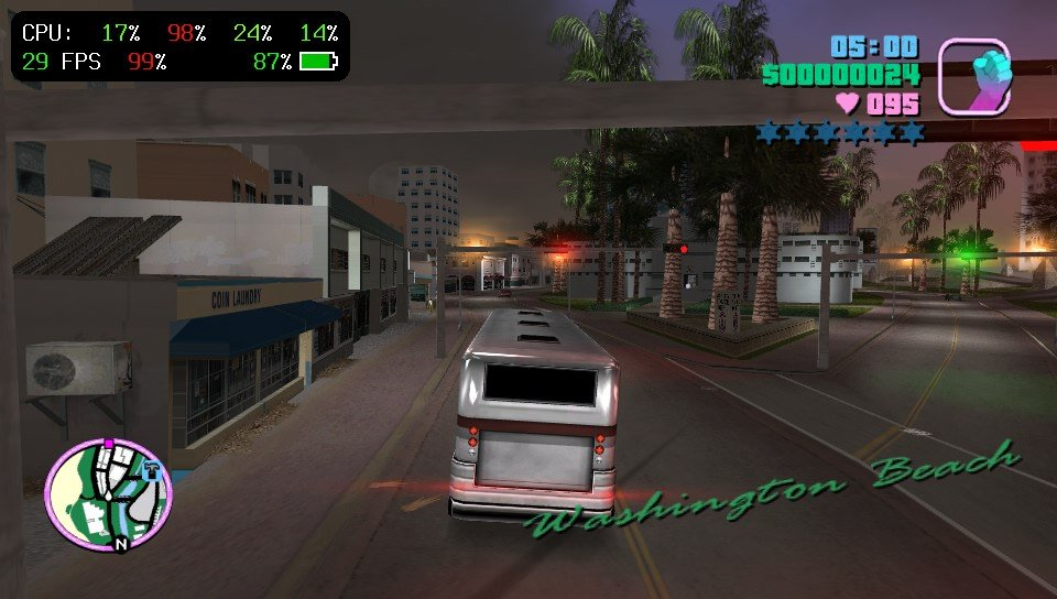 PSVita: Rinnegatamante working on Grand Theft Auto: Vice City Port - Performance in the 30-40 FPS range!