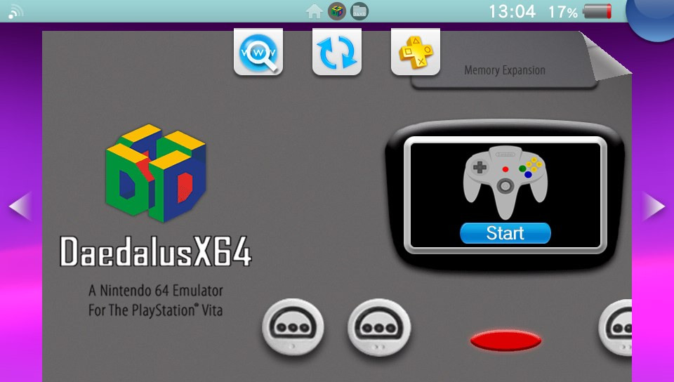 PSVita: DaedalusX64 0.6 released with significant performance improvements in Nintendo 64 titles, Turkish & Russian translations and more - TheFlow ports 3DS dynarec improvements