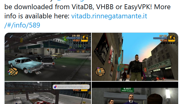 PSVita: Grand Theft Auto III port receives sizeable update with PostFX support, fixed MP3 player and re-introduced HD texture support