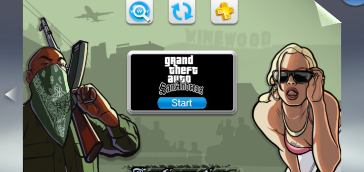 PSVita: Grand Theft Auto San Andreas 1.2 released allowing you to bypass the rear touchpad while fixing corrupted textures